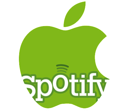 Internet radio Spotify became a rival to iTunes