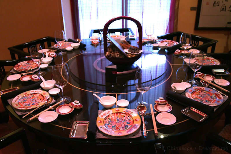 August 5 ... & How to lay the table for Chinese food? Table setting and etiquette