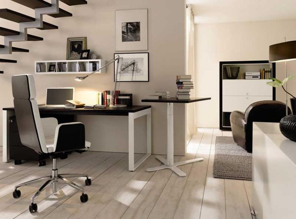 Ideas of modern design of a small office - Awesome small workspace designs for you to work conveniently ...