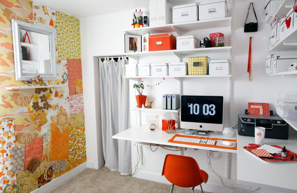 Ordinaire How To Furnish A Small Home Office?