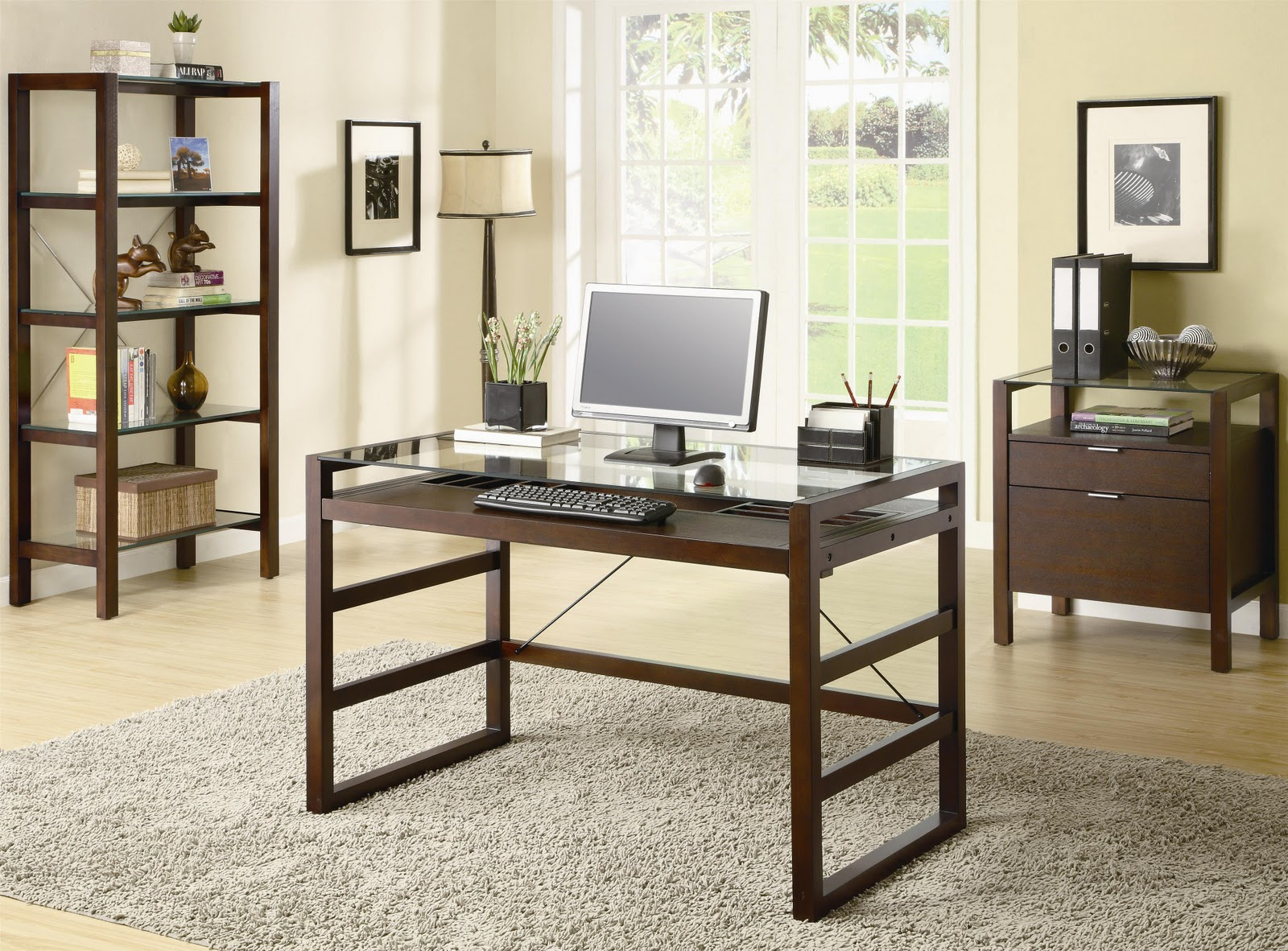 Want your home office look sophisticated?