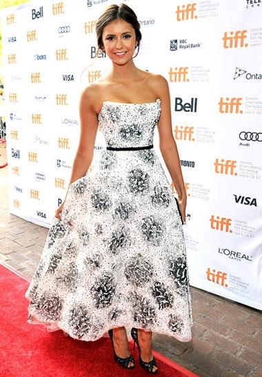 Nina Dobrev Best Dresses On The Red Carpet