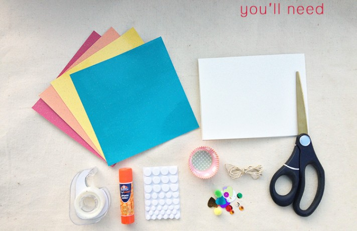 How to make a wonderful card for mommy?
