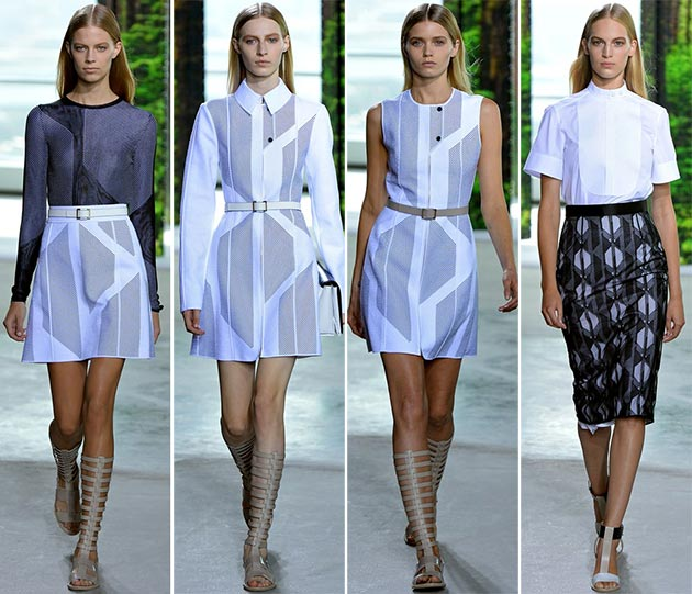 Hugo Boss: women images of spring-summer 2015. What are Boss ...