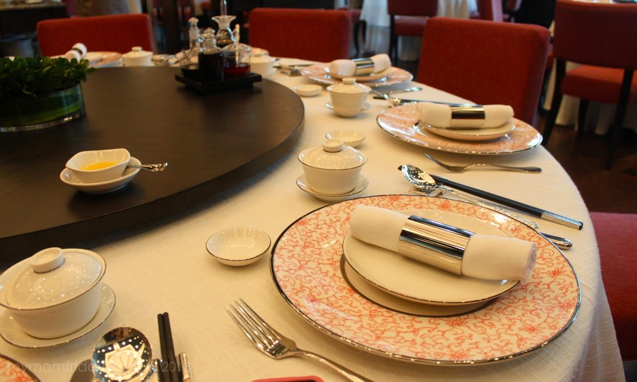 Place settings at Chinese restaurant dinner table Wuzhong Ningxia province China u2013 Stock & chinese table setting u2013 Loris Decoration