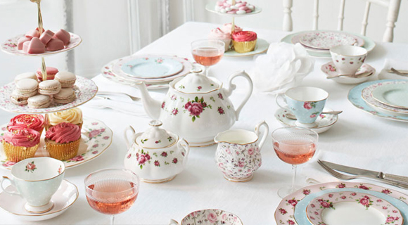 How to lay the table for afternoon tea (3)