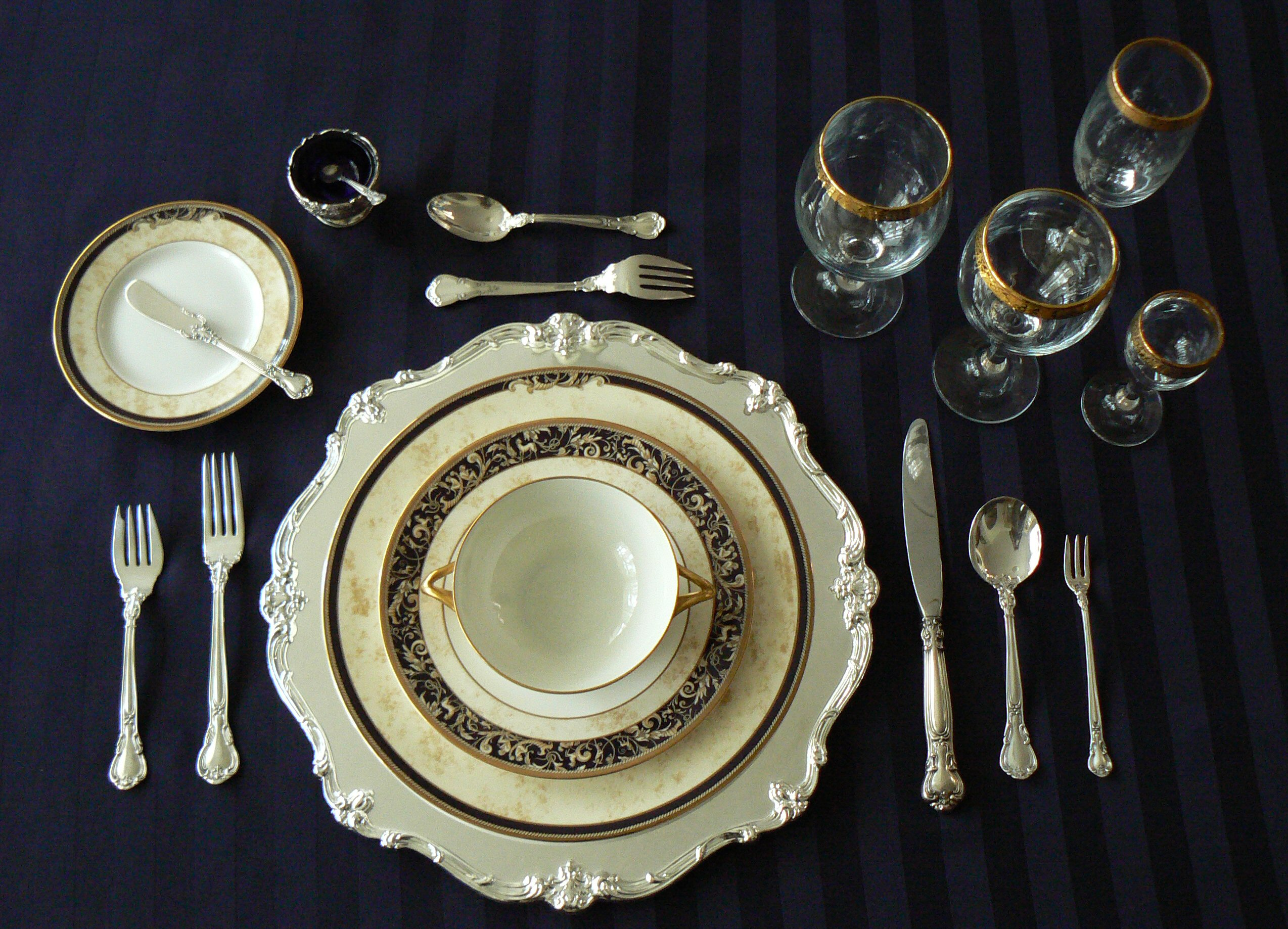 Cutlery Placement For The Table Setting How To Serve Cutlery To - Proper table setting placement