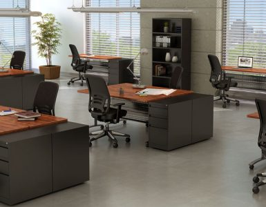 Office space partitions what are their types material for Office arrangements small offices
