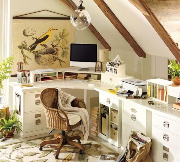 How To Furnish A Small Home Office