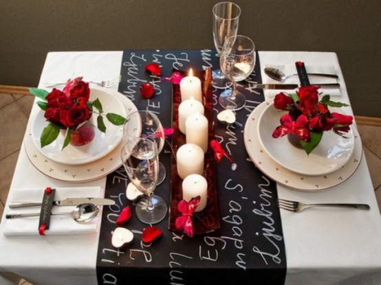 How to lay the table for a romantic dinner & How to lay the table for a romantic dinner?