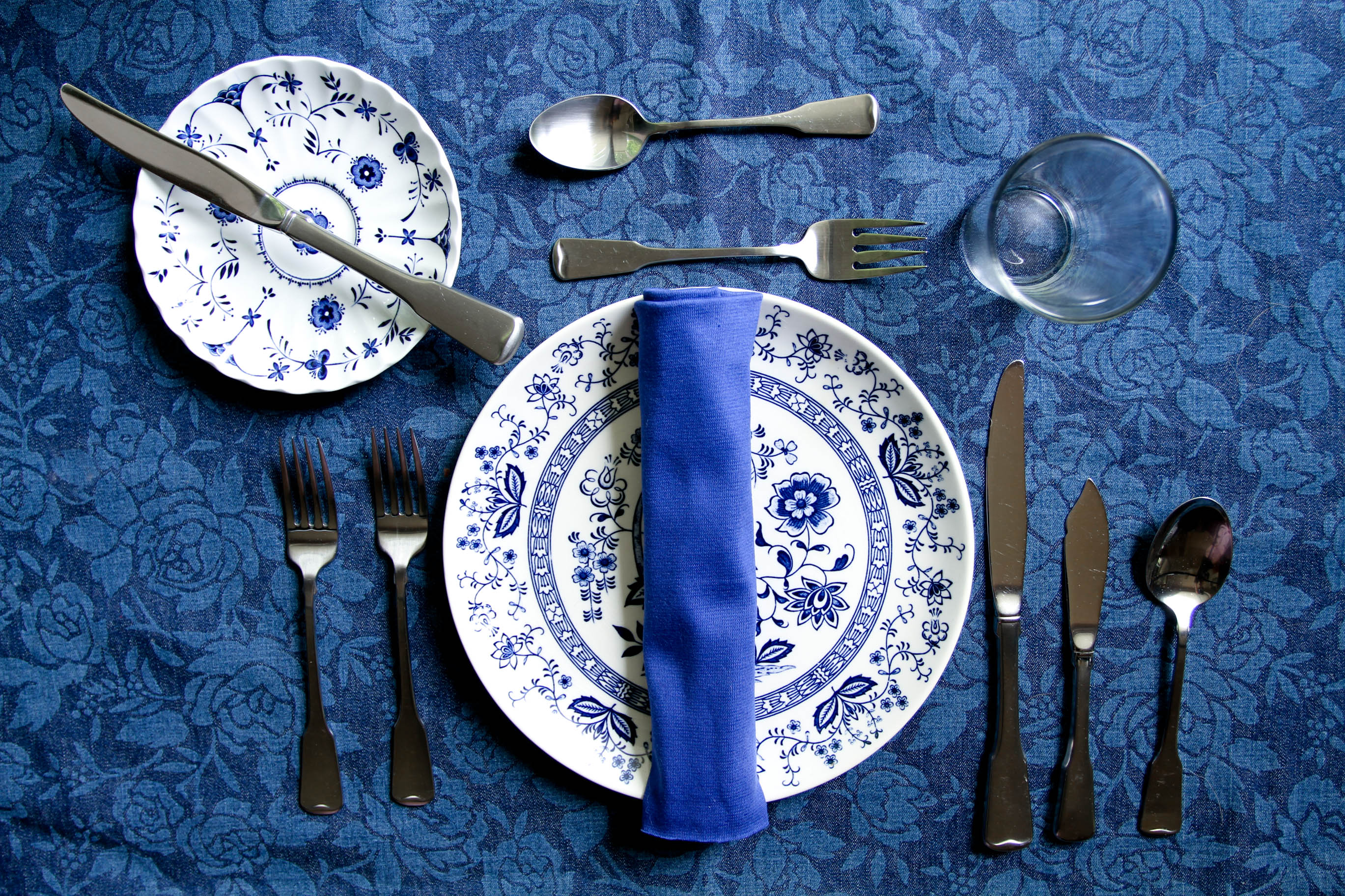 American Table Setup For Lunch Designs & Fine Dining Table Set Up For Dinner - Dining Tables