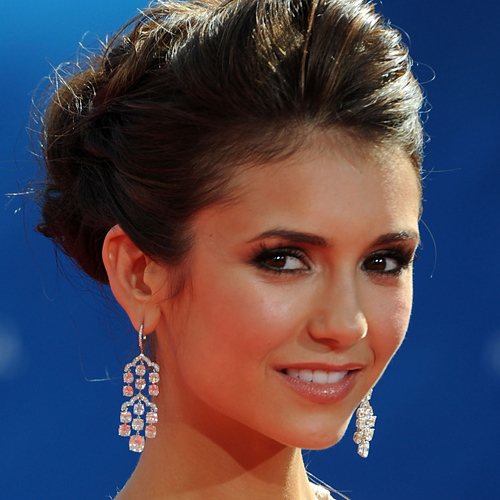 LOS ANGELES, CA - AUGUST 29: Actress Nina Dobrev arrives at the 62nd Annual Primetime Emmy Awards held at the Nokia Theatre L.A. Live on August 29, 2010 in Los Angeles, California. (Photo by Frazer Harrison/Getty Images) *** Local Caption *** Nina Dobrev